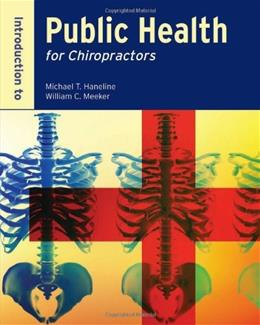 Introduction To Public Health For Chiropractors 1 9780763758226