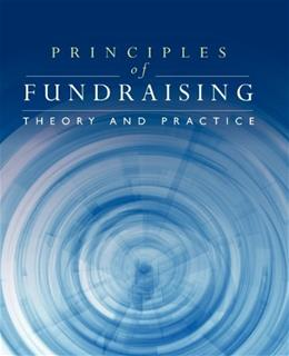 Principles of Fundraising: Theory and Practice, by Lindahl 9780763759148