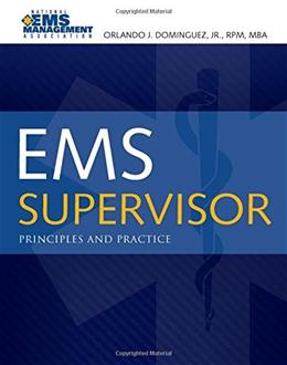 EMS Supervisor, by Dominquez 9780763776435