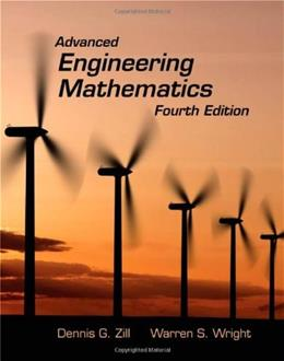Advanced Engineering Mathematics, by Zill, 4th Edition 4 w/CD 9780763779665