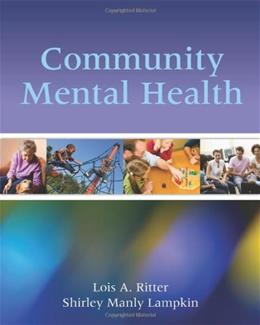 Community Mental Health, by Ritter 9780763783808