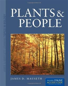Plants and People, by Mauseth PKG 9780763785505