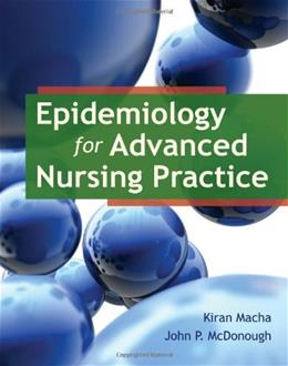 Epidemiology for Advanced Nursing Practice 1 9780763789961