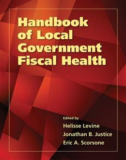 Handbook Of Local Government Fiscal Health, by Levine 9780763792305