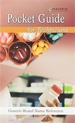 Pocket Guide for Technicians, by Paradigm 9780763852306