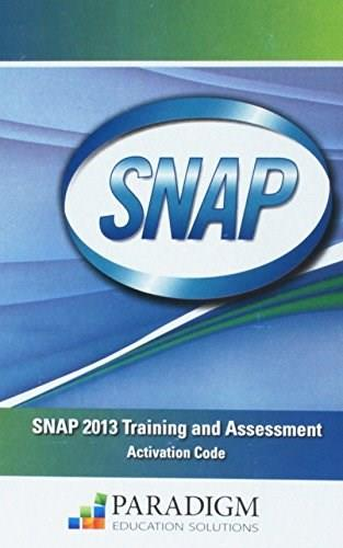 SNAP Office 2013 Training and Assessment, by Rutkosky, ACCESS CODE ONLY PKG 9780763855192