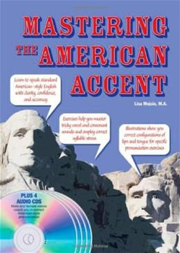 Mastering the American Accent, by Mojsin BK w/CD 9780764195822