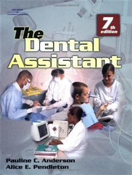 Dental Assistant, by Anderson, 7th Edition 9780766811133