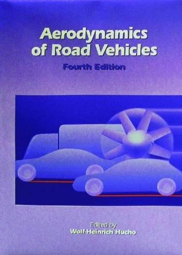 Aerodynamics of Road Vehicles, by Hucho, 4th Edition 9780768000290