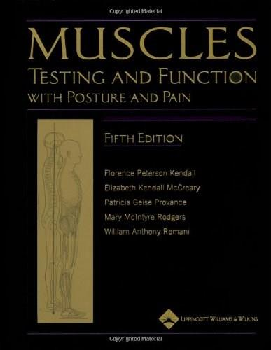 Muscles: Testing and Function, with Posture and Pain (Kendall, Muscles) 5 w/CD 9780781747806
