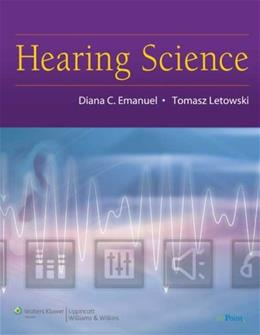 Hearing Science, by Emanuel PKG 9780781780476