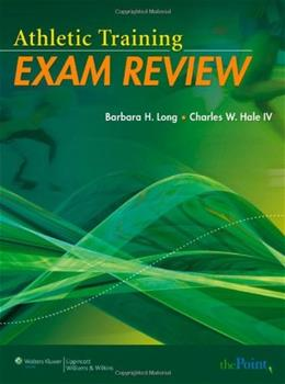 Athletic Training Exam Review, by Long, Worktext PKG 9780781780520
