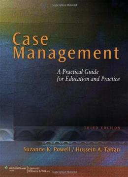 Case Management: A Practical Guide for Education and Practice, by Powell, 3rd Edition 9780781790383