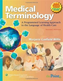 Medical Terminology: A Programmed Learning Approach to the Language of Health Care 2 PKG 9780781792837