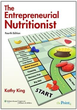 Entrepreneurial Nutritionist, by King, 4th Edition 4 PKG 9780781793698