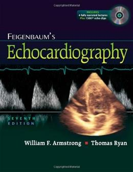 Feigenbaums Echocardiography, by Armstrong, 7th Edition 7 w/DVD 9780781795579