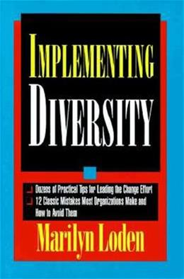 Implementing Diversity, by Loden 9780786304608