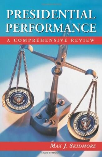 Presidential Performance, by Skidmore 9780786418206