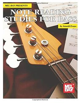 Mel Bay Note Reading Studies for Bass 9780786602476