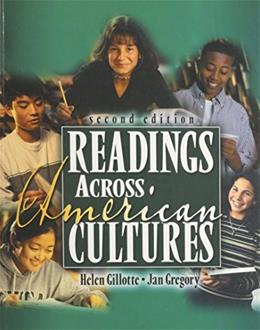 Readings Across American Cultures, by Gillotte, 2nd Edition 9780787294588