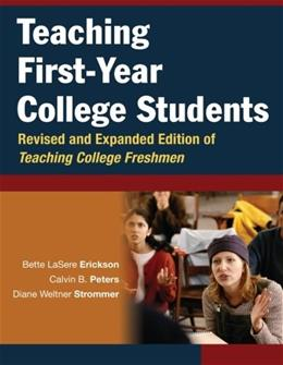 Teaching First-Year College Students 9780787964399