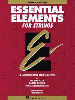 Essential Elements for Strings: Violin, by Allen, Book 1 9780793533596