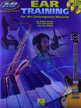 Ear Training for the Contemporary Musician, by Wyatt BK w/CD 9780793581931