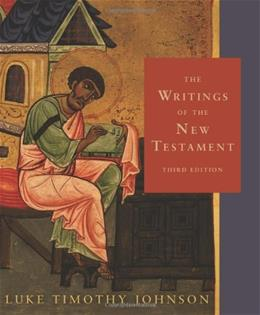Writings of the New Testament, by Johnson, 3rd Edition 9780800663612