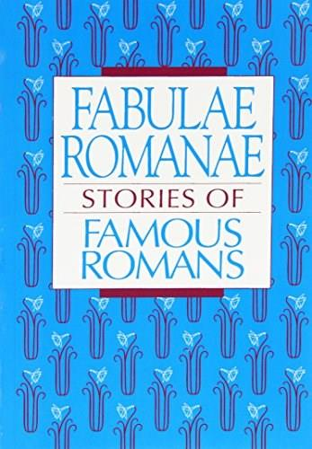Fabulae Romanae: Stories of Famous Romans, by Lawall 9780801309922