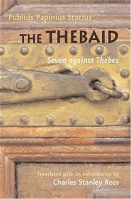Thebaid, by Statius 9780801886362