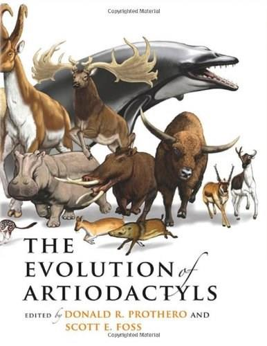 Evolution of Artiodactyls, by Prothero 9780801887352