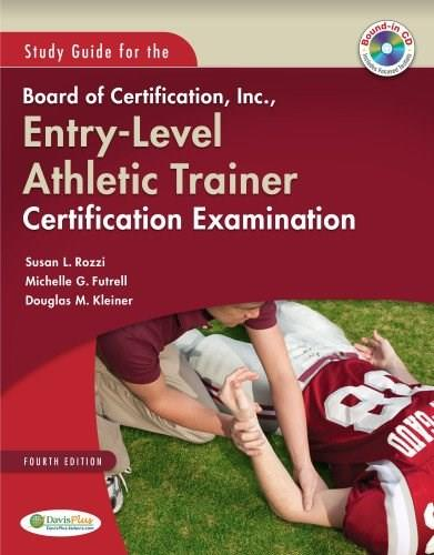Board of Certification, Inc., Entry Level Athletic Trainer Certification Examination, by Rozzi, Study Guide BK w/CD 9780803600201