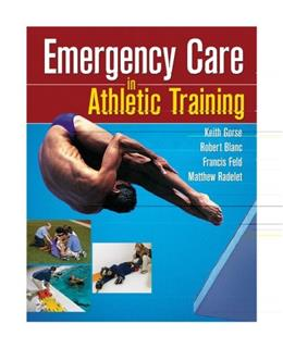 Emergency Care in Athletic Training, by Gorse 9780803614963