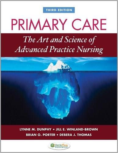 Primary Care Art and Science of Advanced Practice Nursing 3 9780803622555