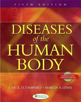 Diseases of the Human Body, by Tamparo, 5th Edition 5 w/CD 9780803625051
