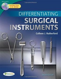 Differentiating Surgical Instruments, by Rutherford, 2nd Edition 2 w/CD 9780803625457