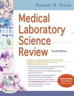 Medical Laboratory Science Review, by Harr, 4th Edition 4 w/CD 9780803628281