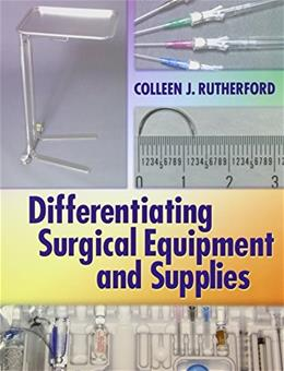 Differentiating Surgical Instruments, by Rutherford, 2nd Edition, 2 BOOK SET 2 PKG 9780803628984