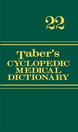 Tabers Cyclopedic Medical Dictionary (Thumb-indexed Version) 22 PKG 9780803629776