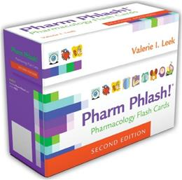 Pharm Phlash!: Pharmacology Flashcards, by Leek, 2nd Edition, FLASHCARDS ONLY 2 PKG 9780803629943