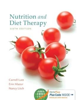 Nutrition and Diet Therapy, 6 Edition 6 PKG 9780803637184