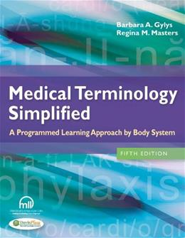 Medical Terminology Simplified: A Programmed Learning Approach by Body System 5 PKG 9780803639713