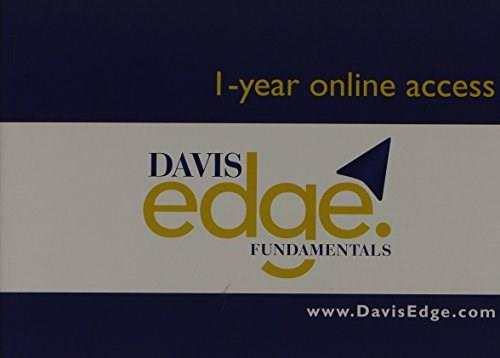 Davis Edge for Fundamentals (Access Card): Online Review for Test Prep and Success 9780803640238