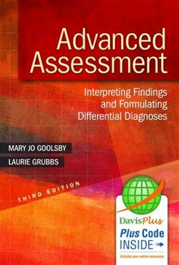 Advanced Assessment: Interpreting Findings and Formulating Differential Diagnoses 3 PKG 9780803643635