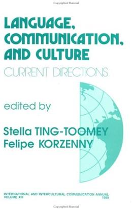 Language, Communications and Culture 9780803934504