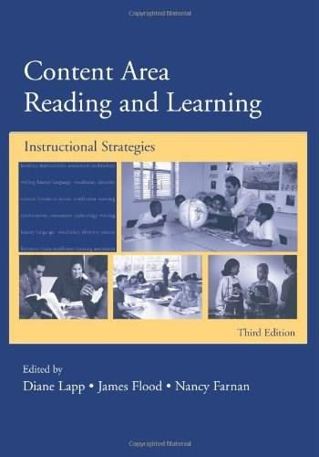 Content Area Reading and Learning: Instructional Strategies, by Lapp, 3rd Edition 9780805852059