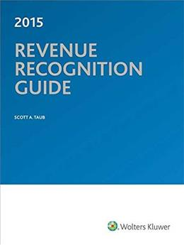 Revenue Recognition Guide (2015) 9780808038948