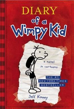 Diary of a Wimpy Kid, by Kinney 9780810993136