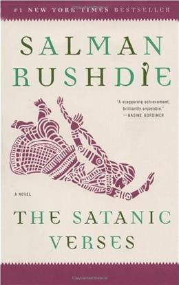 Satanic Verses, by Rushdie 9780812976717