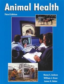 Animal Health, by Jackson, 3rd Edition 9780813431697